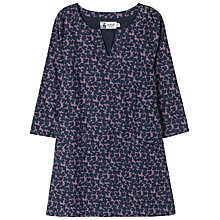 Buy Seasalt Tunic Top, Madron Leaves Wisteria Online at johnlewis.com