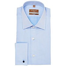 Buy Richard James Mayfair Two-Ply Long Sleeve Shirt, Blue Online at johnlewis.com