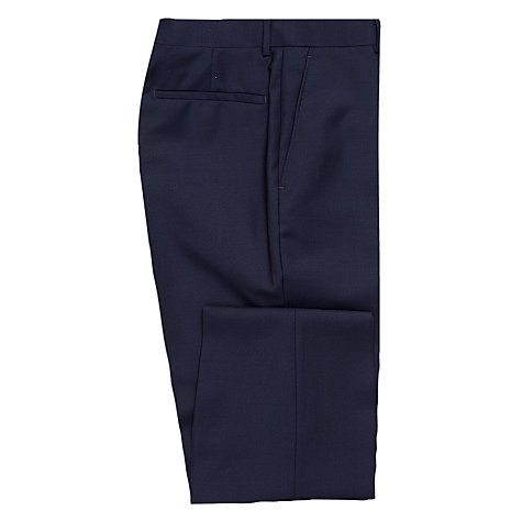 Buy Richard James Mayfair Wool Mohair Suit Trousers, Navy Online at johnlewis.com