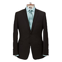 Buy Richard James Mayfair Plain Suit Jacket, Black Online at johnlewis.com