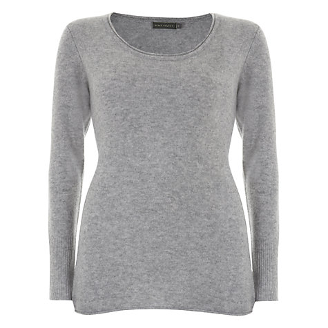 Buy Hygge by Mint Velvet Cashmere Tunic Top, Grey Online at johnlewis.com