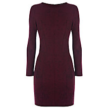 Buy Coast Tali Bodycon Dress, Merlot Online at johnlewis.com
