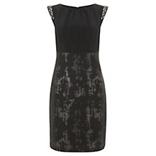 Buy Mint Velvet Jacquard Dress, Multi Online at johnlewis.com