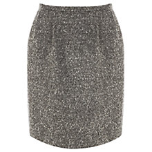 Buy Oasis Tweed Lantern Skirt, Navy Online at johnlewis.com