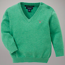 Buy Gant Babys' Lightweight V-Neck Jumper Online at johnlewis.com