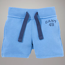 Buy Gant Sweat Shorts, Light Blue Online at johnlewis.com