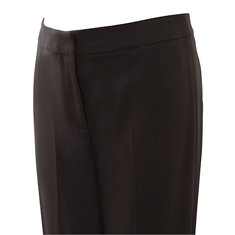 Buy East Straight Leg Trousers, Black Online at johnlewis.com