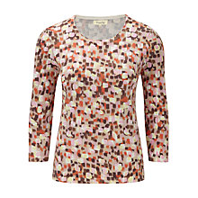 Buy Viyella Watercolour Jumper, Rose Online at johnlewis.com