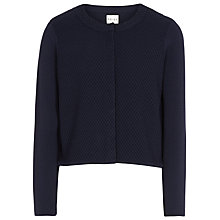 Buy Reiss Shilingford Textured Knit Cover Up, Navy Online at johnlewis.com