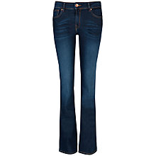 Buy Ted Baker Mid Wash Maelie Denim Jeans, Mid Wash Online at johnlewis.com