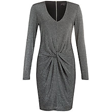 Buy Ted Baker Lizzey V-Neck Sparkle Dress Online at johnlewis.com