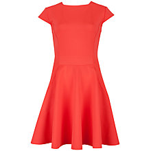 Buy Ted Baker Tezz Contrast Panel Skater Dress Online at johnlewis.com