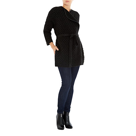 Buy Fenn Wright Manson Rose Cardigan, Black Online at johnlewis.com