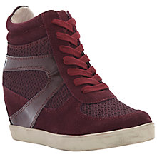 Buy Steve Madden Olympia-X Wedged High-Top Trainers Online at johnlewis.com