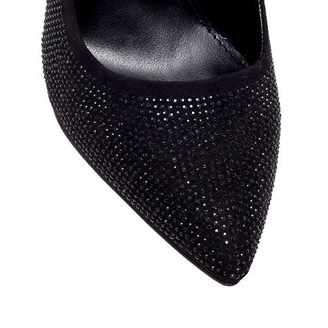 Buy Carvela Gondola Studded Stiletto Court Shoes, Black Online at johnlewis.com