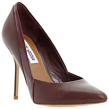 Buy Steve Madden Clydee SM Court Shoes, Red Online at johnlewis.com