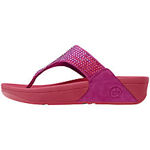 Buy FitFlop Flare Flip Flops, Rio Pink Online at johnlewis.com