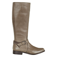 Buy NW3 by Hobbs Evie Calf Boots, Taupe Online at johnlewis.com