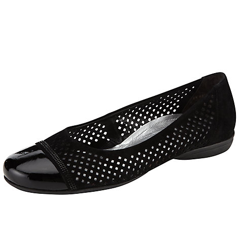 Buy Gabor Meringue Pumps, Black Online at johnlewis.com