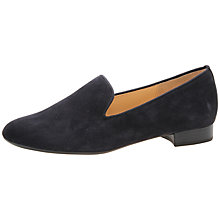 Buy Gabor Abalina Suede Loafers, Pacific Blue Online at johnlewis.com
