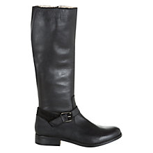 Buy NW3 by Hobbs Evie Calf Boots, Black Online at johnlewis.com