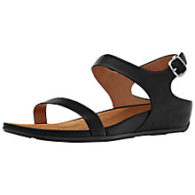 Buy FitFlop Banda Sandal, Black Online at johnlewis.com