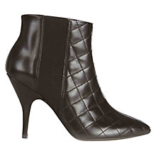 Buy Hobbs London Pia Shoe Boots, Chocolate Online at johnlewis.com