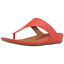 Buy FitFlop Banda Toe Post Online at johnlewis.com