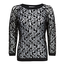 Buy Fenn Wright Manson Tara Lace Top, Black Online at johnlewis.com