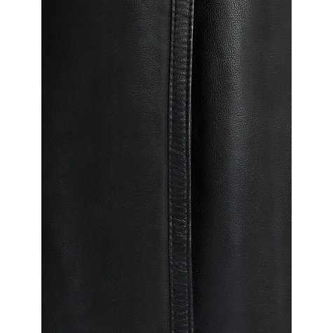 Buy Fenn Wright Manson Callie Leather Skirt, Black Online at johnlewis.com
