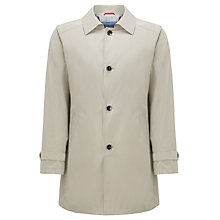Buy Daniel Hechter Single Breasted Raincoat, Stone Online at johnlewis.com
