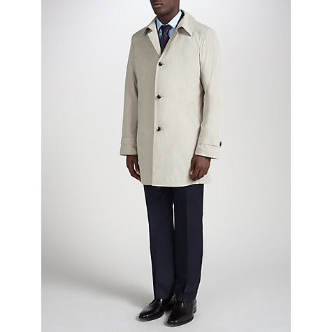 Buy Daniel Hechter Single Breasted Raincoat Online at johnlewis.com