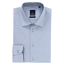 Buy Daniel Hecther Dobby City Shirt, Blue Online at johnlewis.com