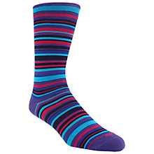 Buy Duchamp Ayin Stripe Socks, Multi Online at johnlewis.com