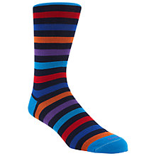 Buy Duchamp Regular Stripe Sock, Multi Online at johnlewis.com