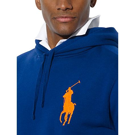 Buy Polo Ralph Lauren Logo Hoodie Online at johnlewis.com