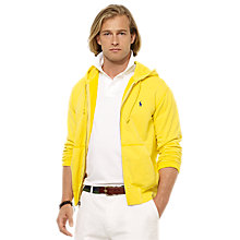 Buy Polo Ralph Lauren Cotton Jersey Hooded Sweatshirt Online at johnlewis.com