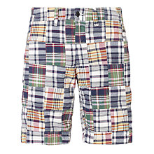 Buy Gant Patchwork Check Shorts Online at johnlewis.com