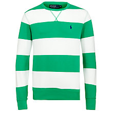 Buy Polo Ralph Lauren Striped Jersey Sweatshirt Online at johnlewis.com