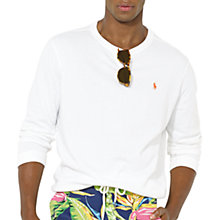 Buy Polo Ralph Lauren Long Sleeve Cotton Top Online at johnlewis.com