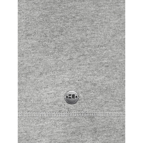Buy BOSS Orange Funnel Neck Jumper, Grey Online at johnlewis.com
