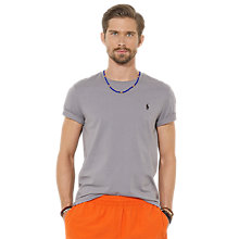 Buy Polo Ralph Lauren Crew Neck Cotton T-Shirt Online at johnlewis.com