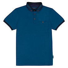 Buy Ted Baker Daylea Polo Top, Sapphire Online at johnlewis.com