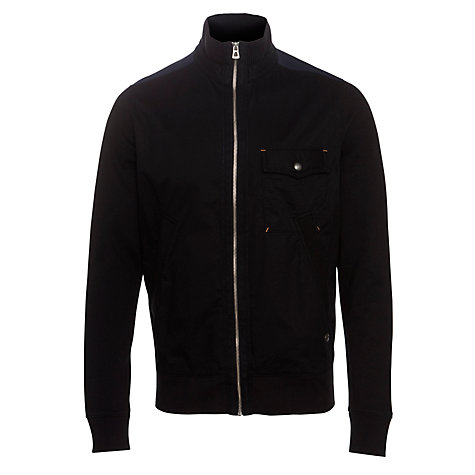 Buy Boss Orange Crossover Jacket, Black Online at johnlewis.com