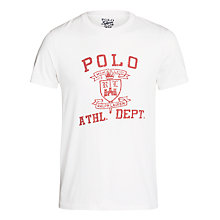 Buy Polo Ralph Lauren Athletic Department Crew Neck T-Shirt Online at johnlewis.com
