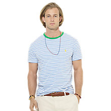 Buy Polo Ralph Lauren Striped Cotton T-Shirt Online at johnlewis.com