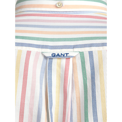 Buy Gant Multi Stripe Oxford Shirt, Multi Online at johnlewis.com