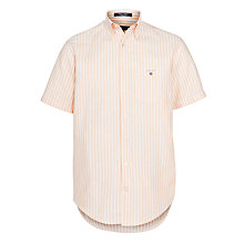 Buy Gant Summer Short Sleeve Oxford Shirt Online at johnlewis.com