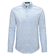 Buy Gant Striped Cotton Shirt Online at johnlewis.com