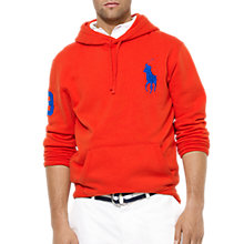 Buy Polo Ralph Lauren Hooded Jersey Sweat Shirt Online at johnlewis.com
